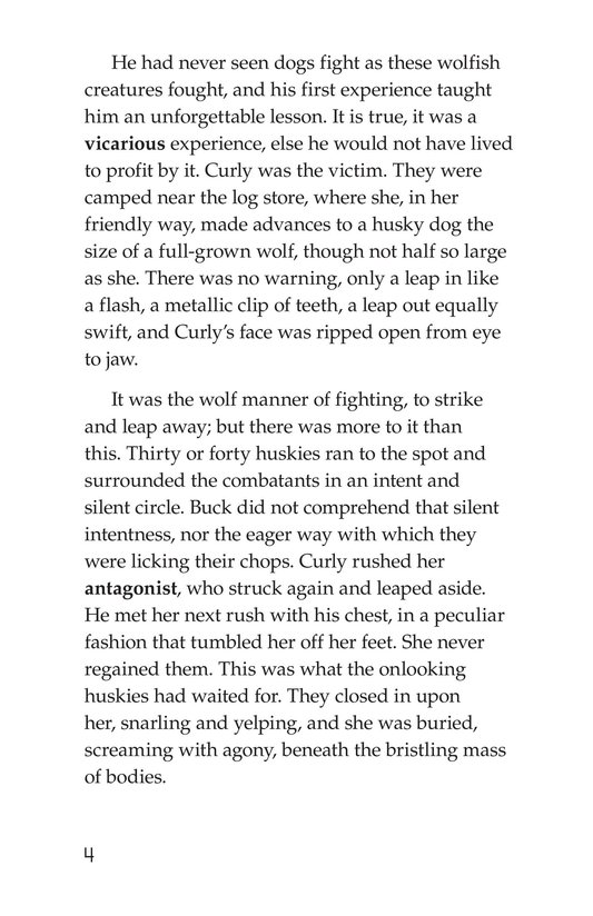 Book Preview For The Call of the Wild (Part 2) Page 4