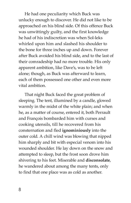 Book Preview For The Call of the Wild (Part 2) Page 8