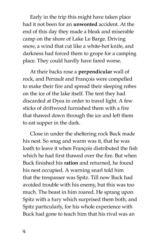 Book Preview For The Call of the Wild (Part 3) Page 4