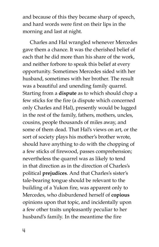 Book Preview For The Call of the Wild (Part 7) Page 4