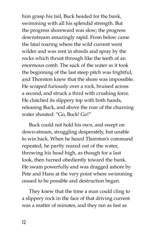 Book Preview For The Call of the Wild (Part 8) Page 12