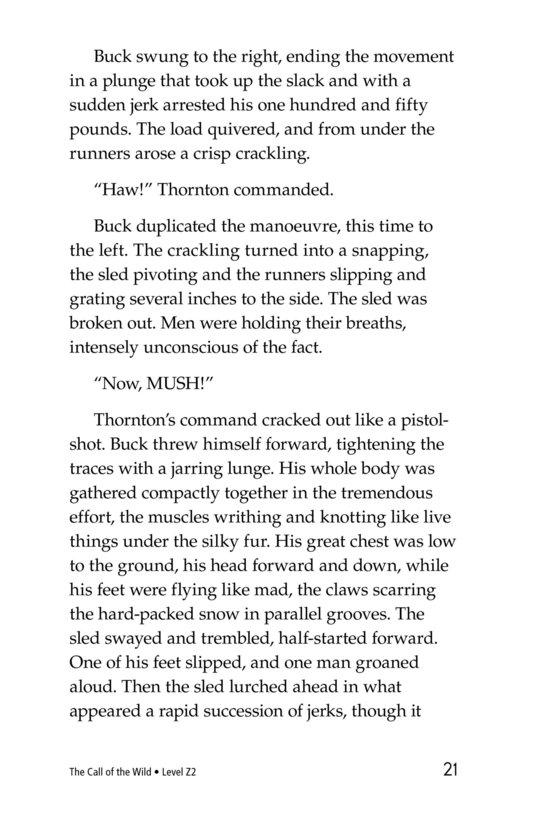 Book Preview For The Call of the Wild (Part 8) Page 21