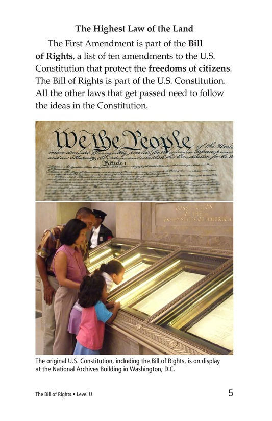 Book Preview For The Bill of Rights Page 5