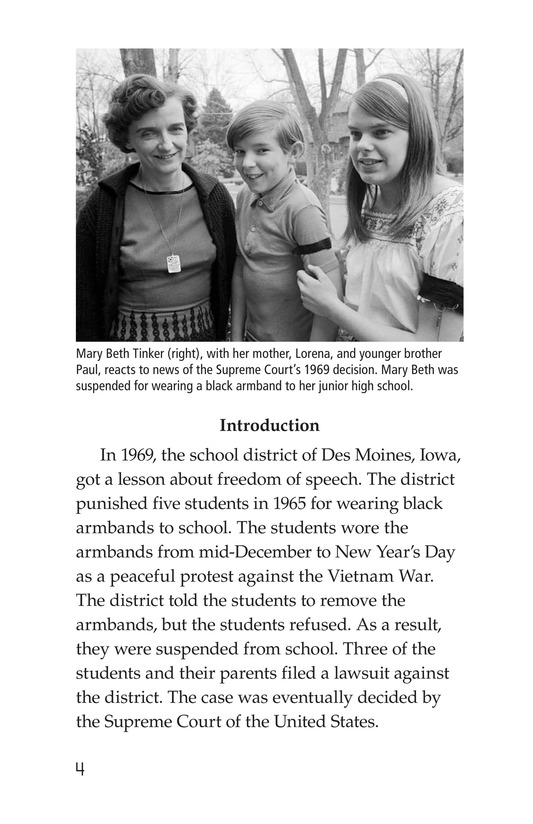 Book Preview For The Bill of Rights Page 4
