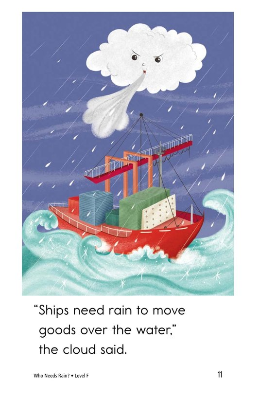 Book Preview For Who Needs Rain? Page 11