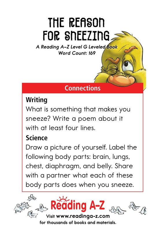 Book Preview For The Reason for Sneezing Page 13