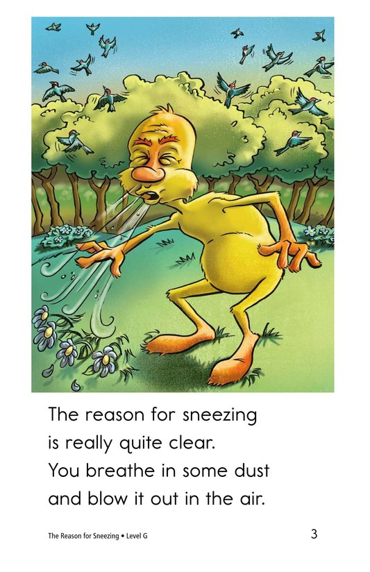 Book Preview For The Reason for Sneezing Page 3