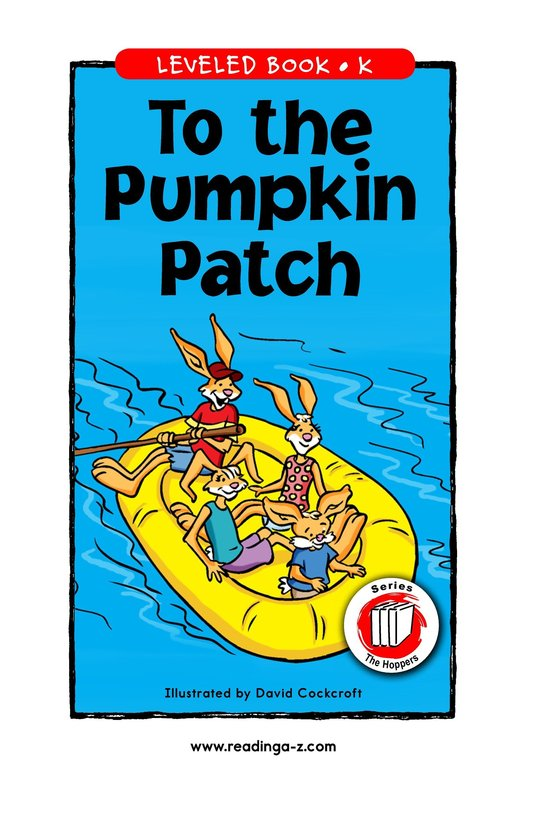 Book Preview For To the Pumpkin Patch Page 1