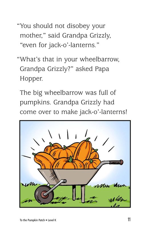 Book Preview For To the Pumpkin Patch Page 11