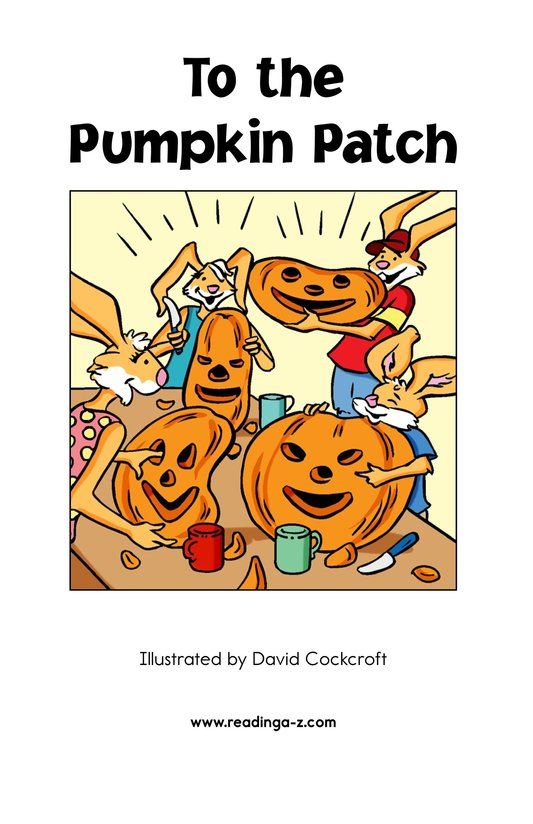 Book Preview For To the Pumpkin Patch Page 2