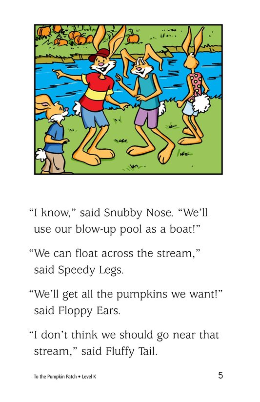 Book Preview For To the Pumpkin Patch Page 5