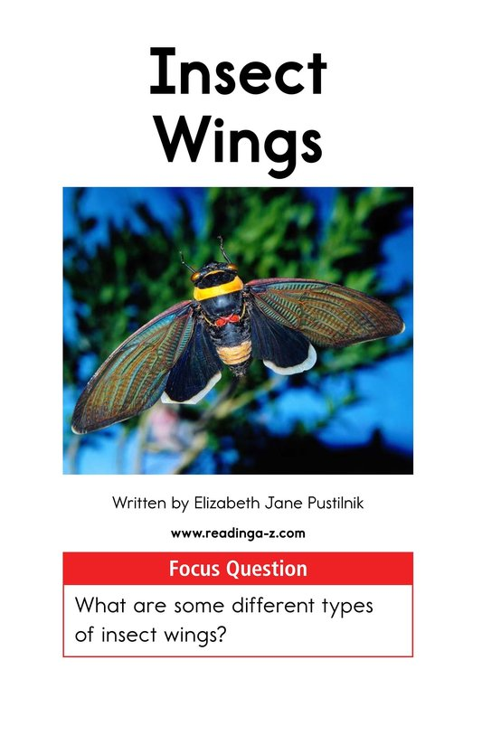 Book Preview For Insect Wings Page 1