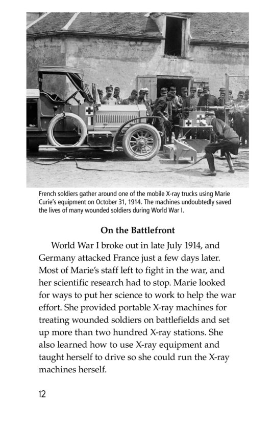 Book Preview For Marie Curie Page 12