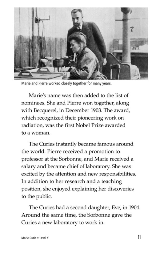 Book Preview For Marie Curie Page 11