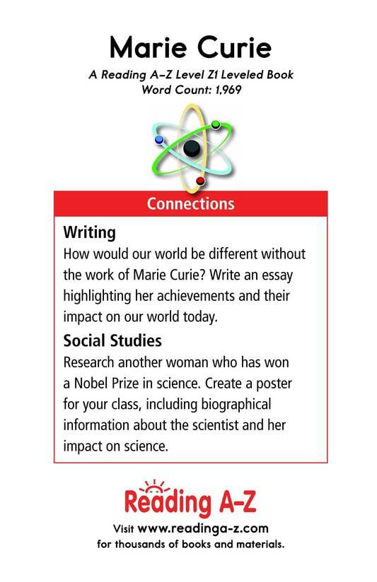 Book Preview For Marie Curie Page 21