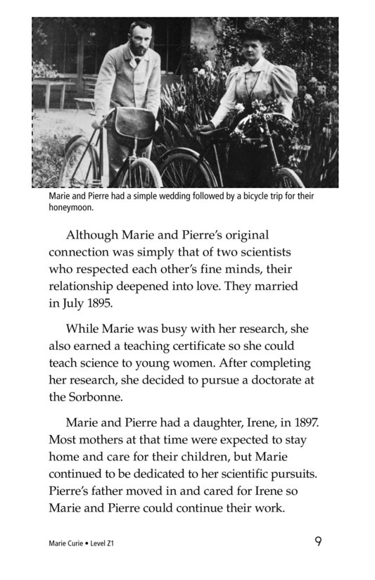 Book Preview For Marie Curie Page 9