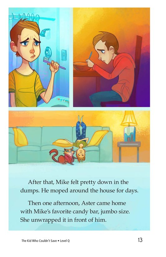 Book Preview For Book 1: The Kid Who Couldn't Save Page 13