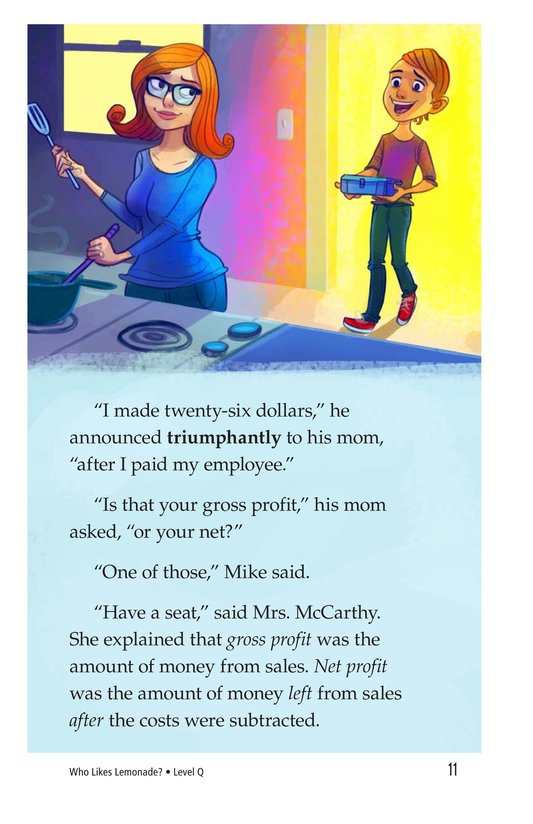 Book Preview For Book 2: Who Likes Lemonade? Page 11