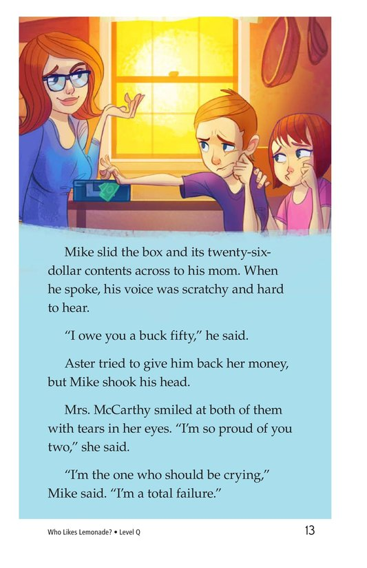 Book Preview For Book 2: Who Likes Lemonade? Page 13