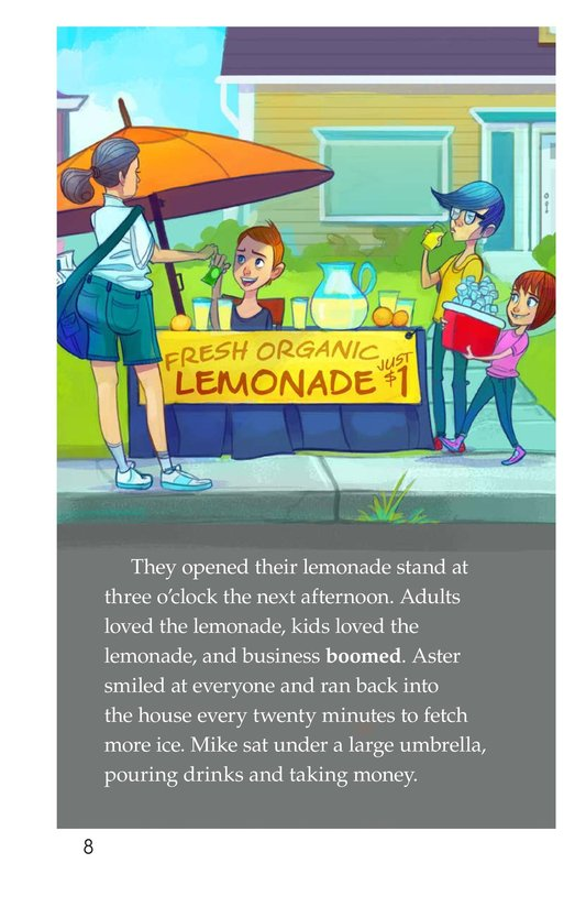 Book Preview For Book 2: Who Likes Lemonade? Page 8