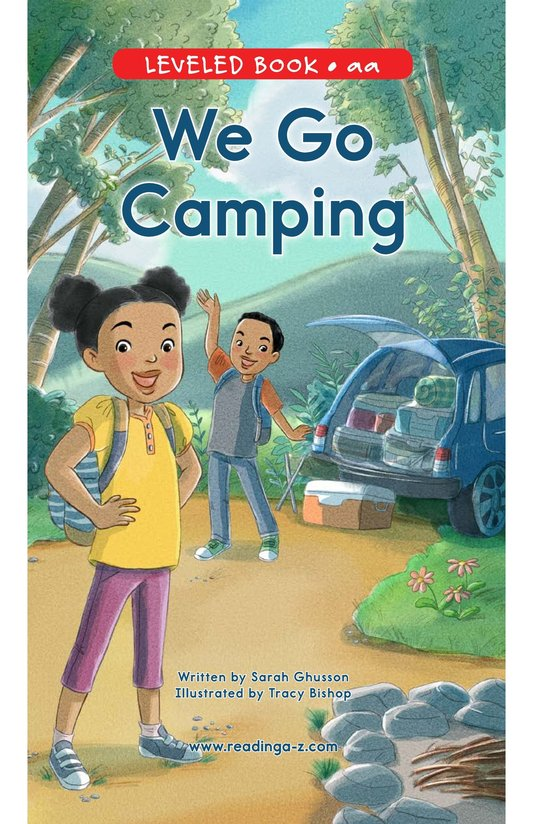 Book Preview For We Go Camping Page 0