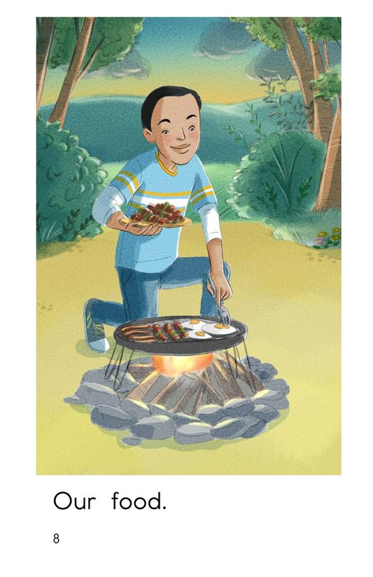 Book Preview For We Go Camping Page 8