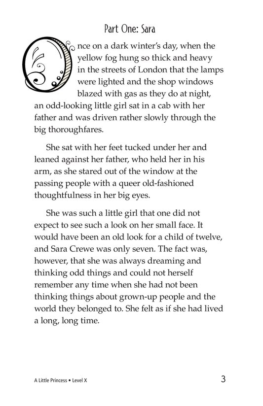 Book Preview For A Little Princess (Part 1) Page 3