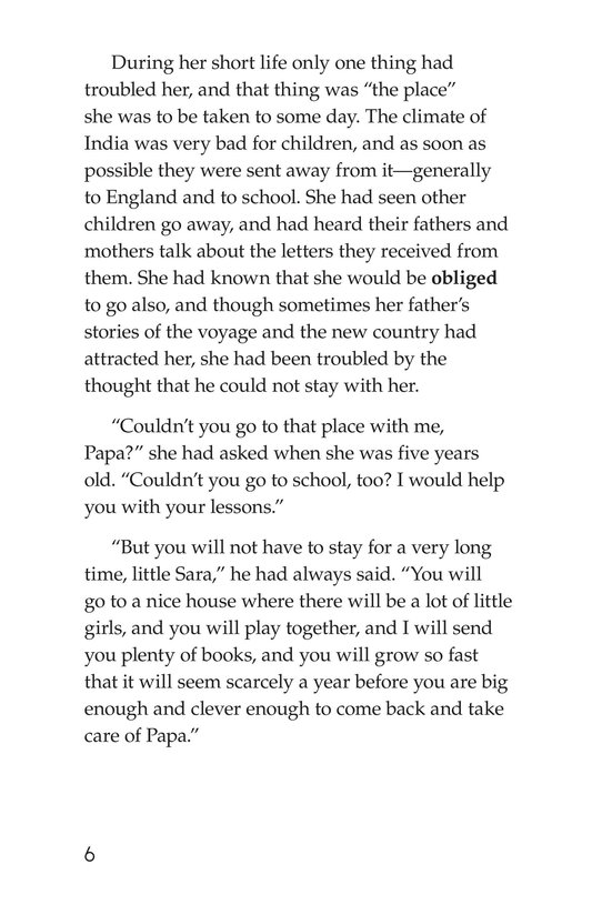 Book Preview For A Little Princess (Part 1) Page 6