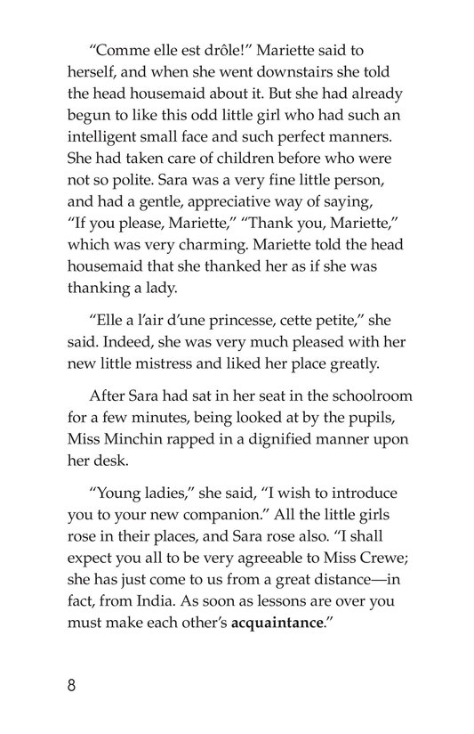 Book Preview For A Little Princess (Part 2) Page 8