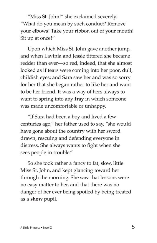 Book Preview For A Little Princess (Part 3) Page 5