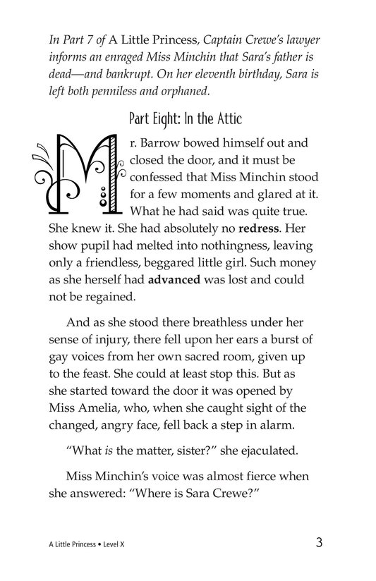 Book Preview For A Little Princess (Part 8) Page 3