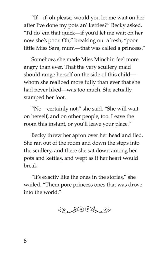 Book Preview For A Little Princess (Part 8) Page 8