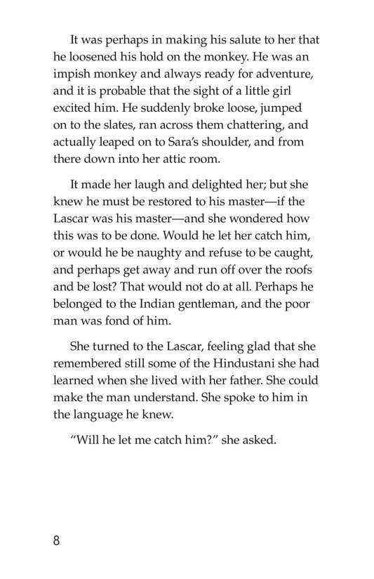 Book Preview For A Little Princess (Part 12) Page 8