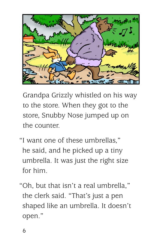 Book Preview For The Umbrella Trick Page 6