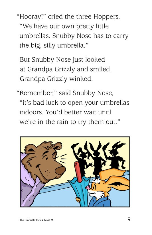 Book Preview For The Umbrella Trick Page 9