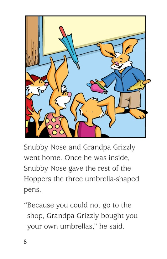 Book Preview For The Umbrella Trick Page 8