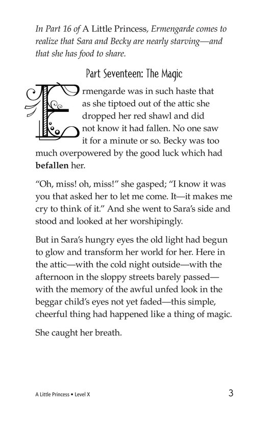 Book Preview For A Little Princess (Part 17) Page 3