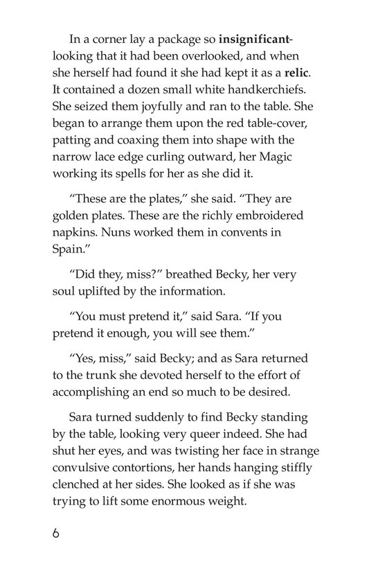 Book Preview For A Little Princess (Part 17) Page 6