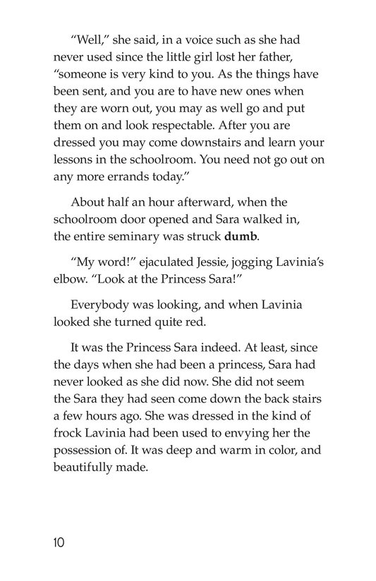Book Preview For A Little Princess (Part 19) Page 10