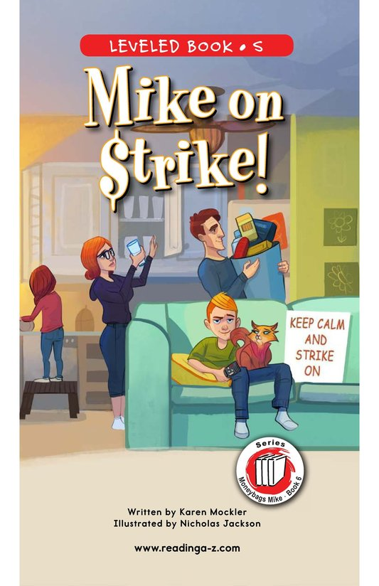 Book Preview For Book 6: Mike on Strike! Page 0