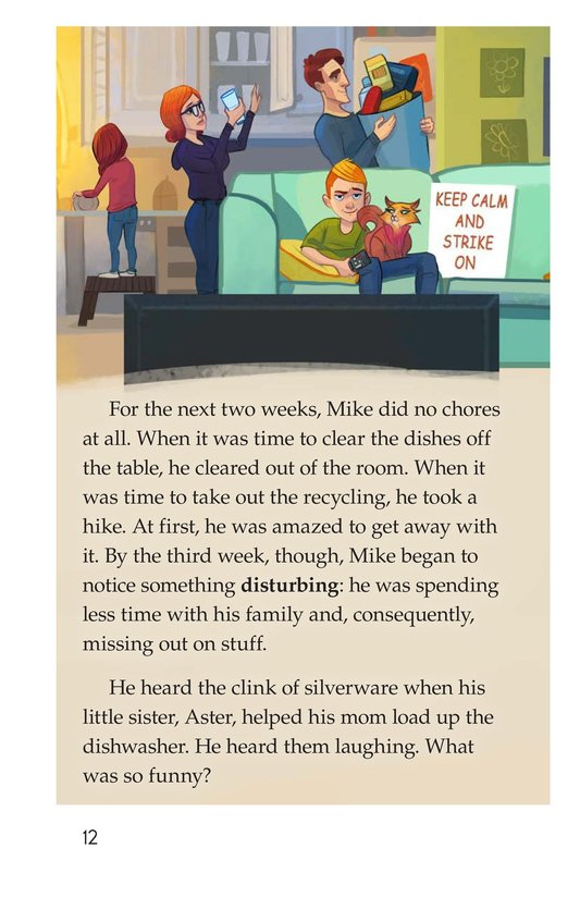Book Preview For Book 6: Mike on Strike! Page 12