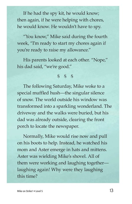 Book Preview For Book 6: Mike on Strike! Page 13