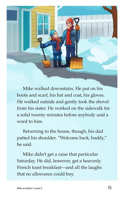 Book Preview For Book 6: Mike on Strike! Page 15