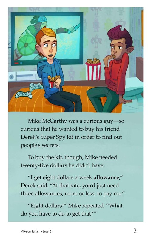 Book Preview For Book 6: Mike on Strike! Page 3