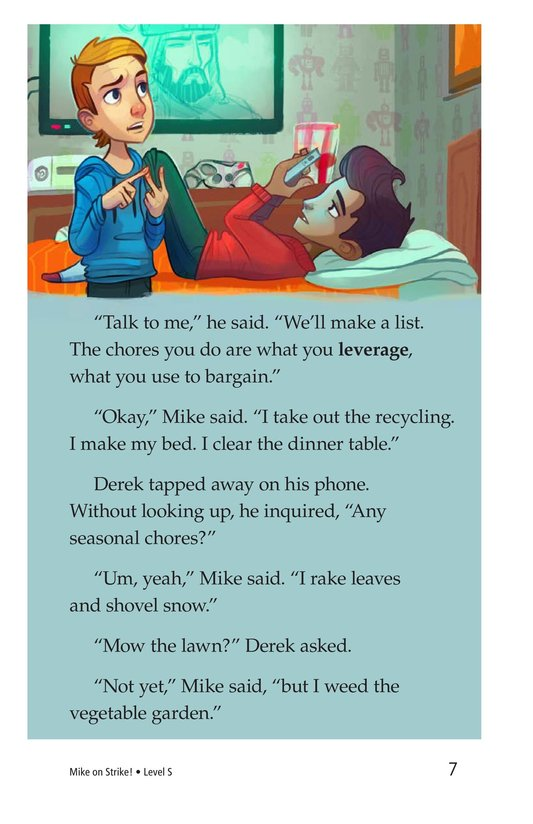 Book Preview For Book 6: Mike on Strike! Page 7