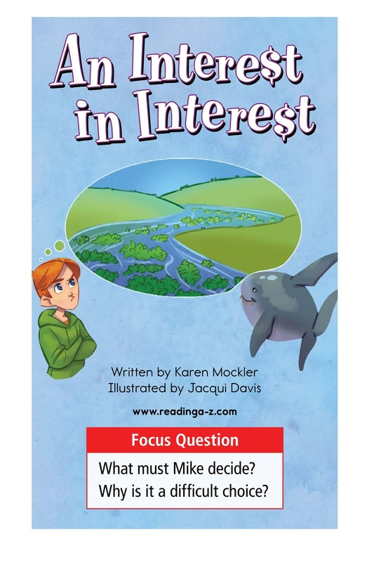 Book Preview For Book 9: An Interest in Interest Page 1