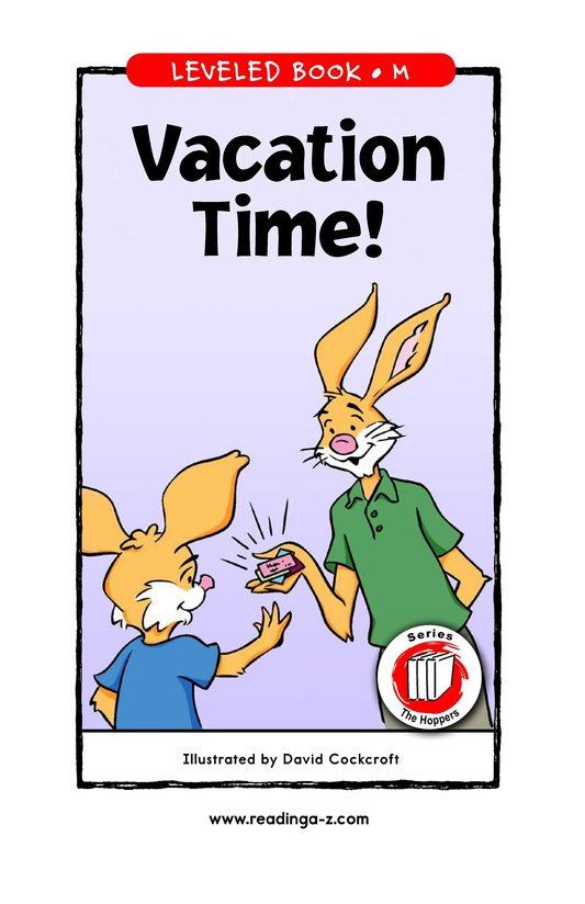 Book Preview For Vacation Time! Page 1