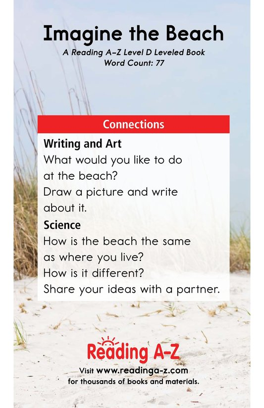 Book Preview For Imagine the Beach Page 11
