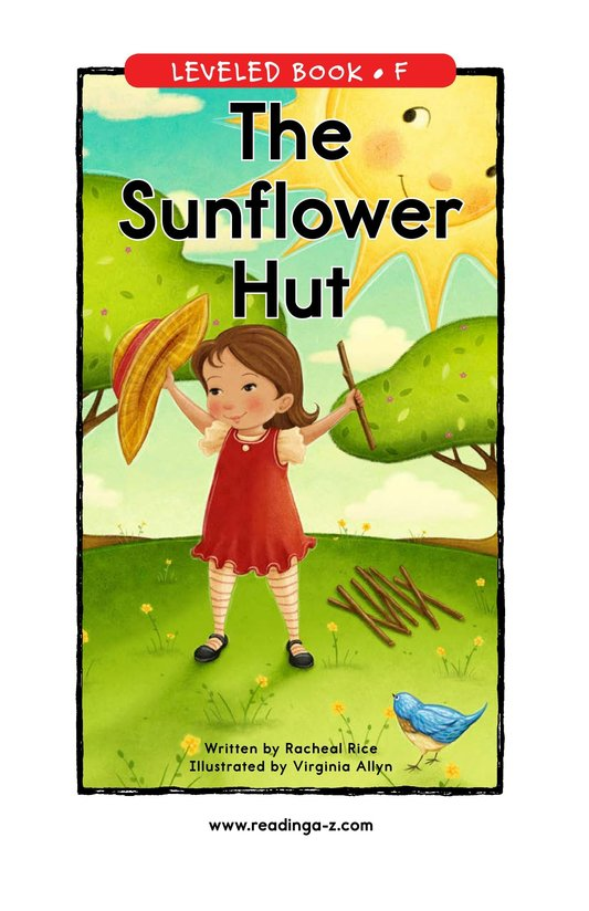 Book Preview For The Sunflower Hut Page 0