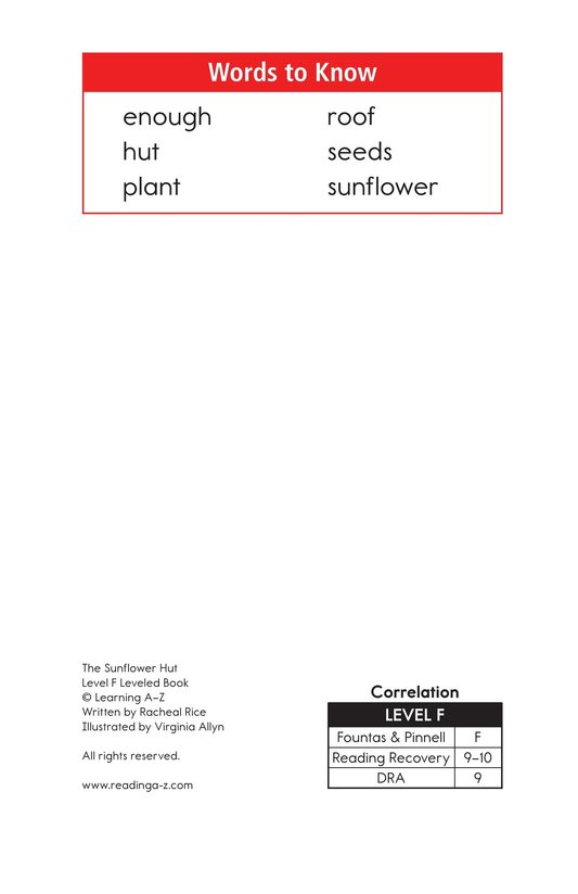 Book Preview For The Sunflower Hut Page 2